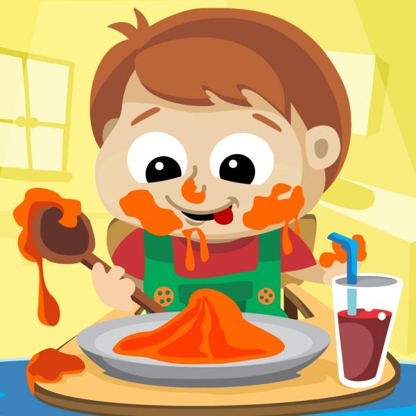 Bimbo affamato Kidsfuncamp